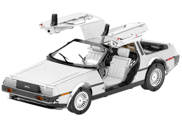 Delorean 3D Metal Model