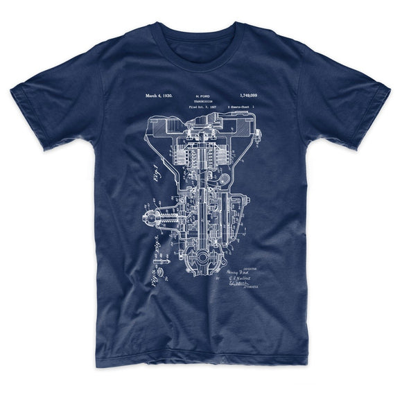 Henry Ford Transmission Patent T-shirt
