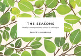 The Seasons Notecard Set