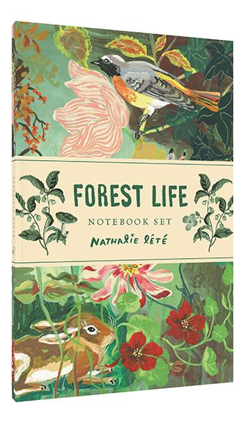 Forest Life Notebook Set