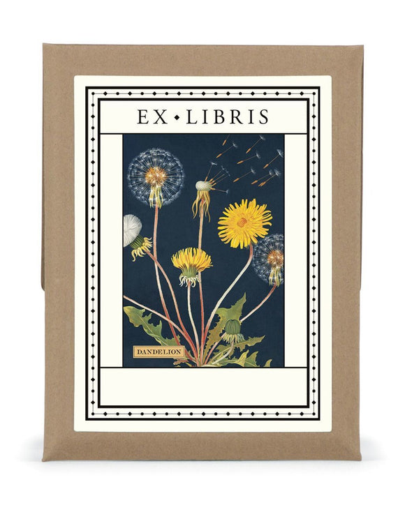 Dandelion Bookplate Set