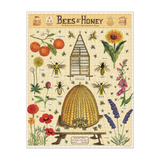 completed bees and honey vintage puzzle bees and pollinating plants