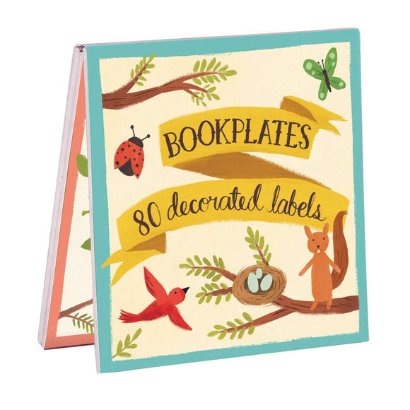 Forest Friends Bookplate Set