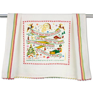 The Night Before Christmas Dish Towel