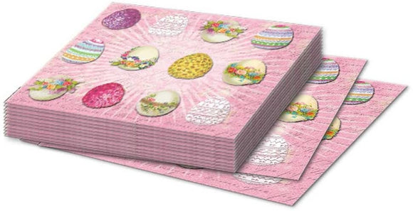 Punch Studio Easter Collection Beverage Paper Napkins