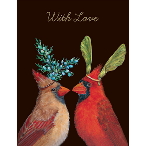 Cardinal Love Notecard