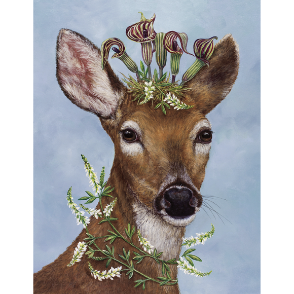 Woodland Princess Notecard