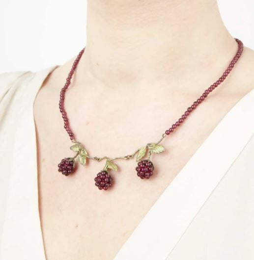 Raspberry Necklace