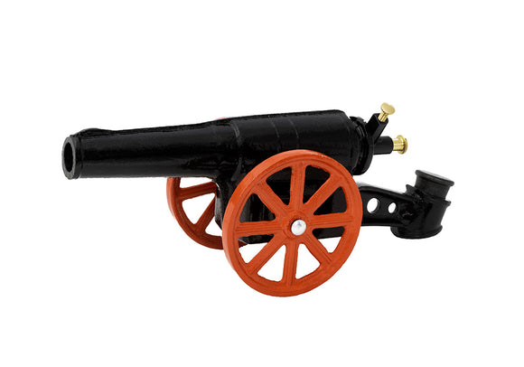 black light field cannon with red wheels