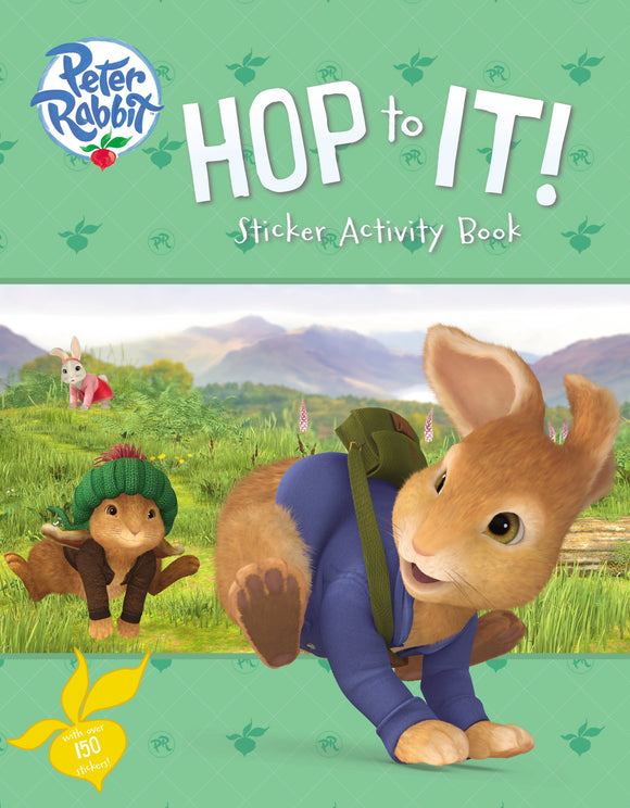Hop to It! Sticker Activity Book