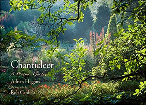book cover chanticleer a pleasure garden luscious garden with color and trees