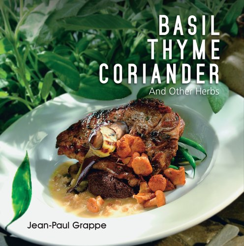 basil thyme coriander book cover with plated meal