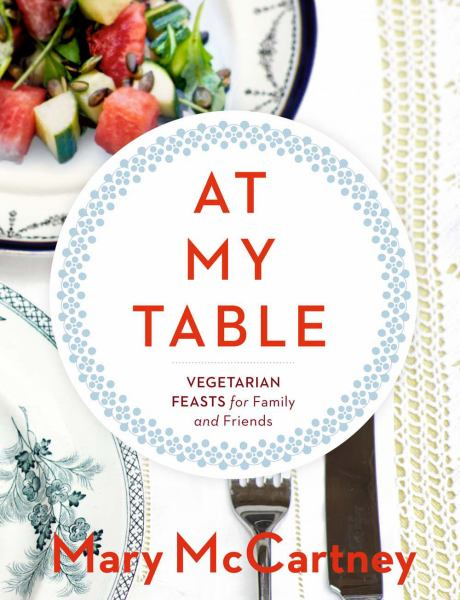 at my table vegetarian feasts for family and friends book cover