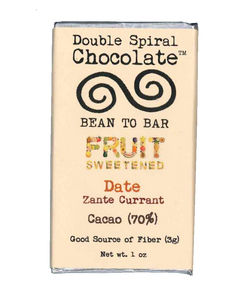 Zante Currant Date Chocolate Bar