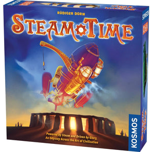 Steam Time Multi-Player Board Game