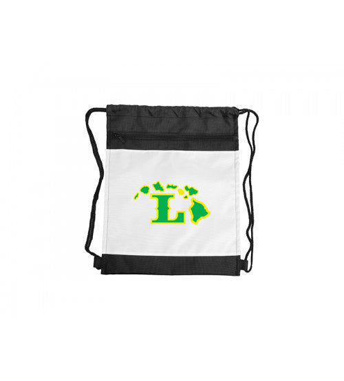 Lanai Drawstring Backpack with Black Trim