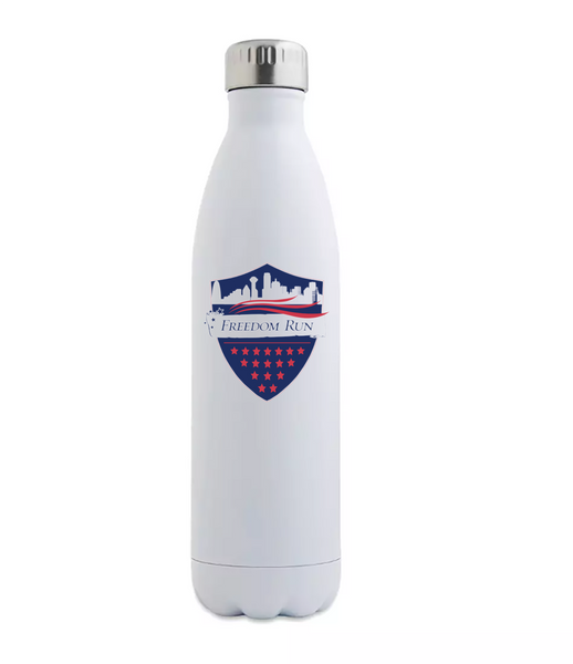 Stainless Steel Water Bottle 17oz - Logo