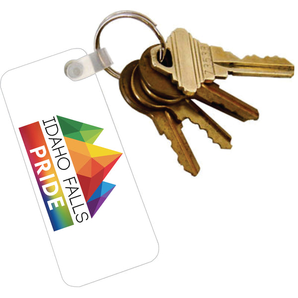 Acrylic Key Tag with Ring - Logo