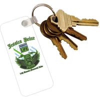 Key Tag with Ring - Logo