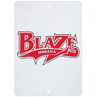 "8"" x 10"" Metal Sign - Logo"