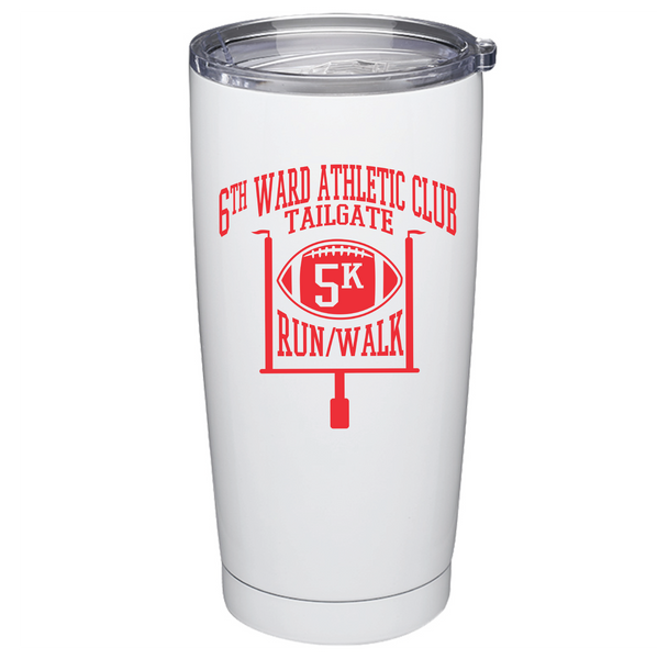 20 oz Stainless Steel Tumbler - Logo