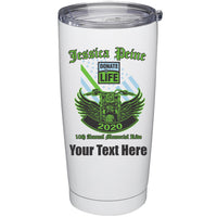 20 oz Stainless Steel Tumbler - Add Text