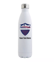 Stainless Steel Water Bottle 17oz - Add Text