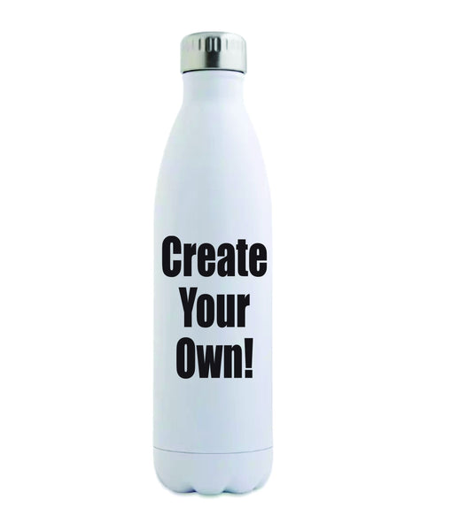 Stainless Steel Water Bottle 17oz - Add Photos