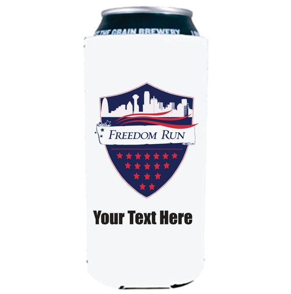 Tall Boy Koozie 2 Sided - Add Text