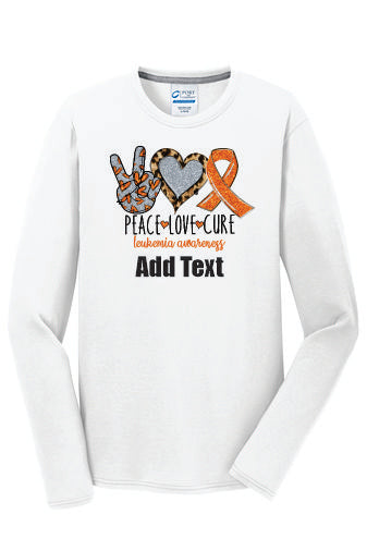 Adult Tech Long Sleeve - Add Text