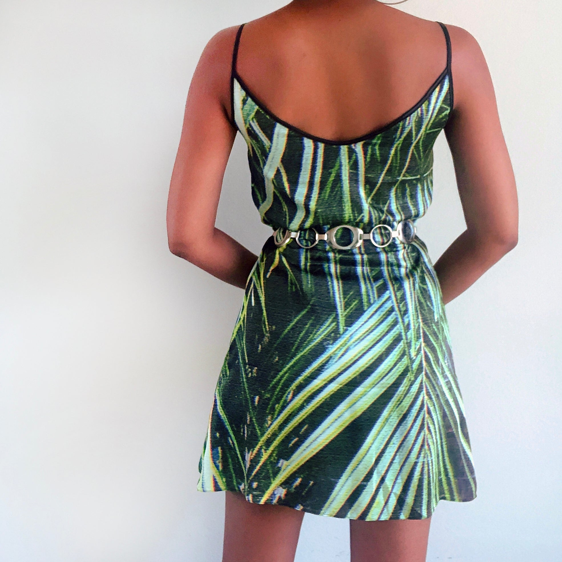 Palms slip dress