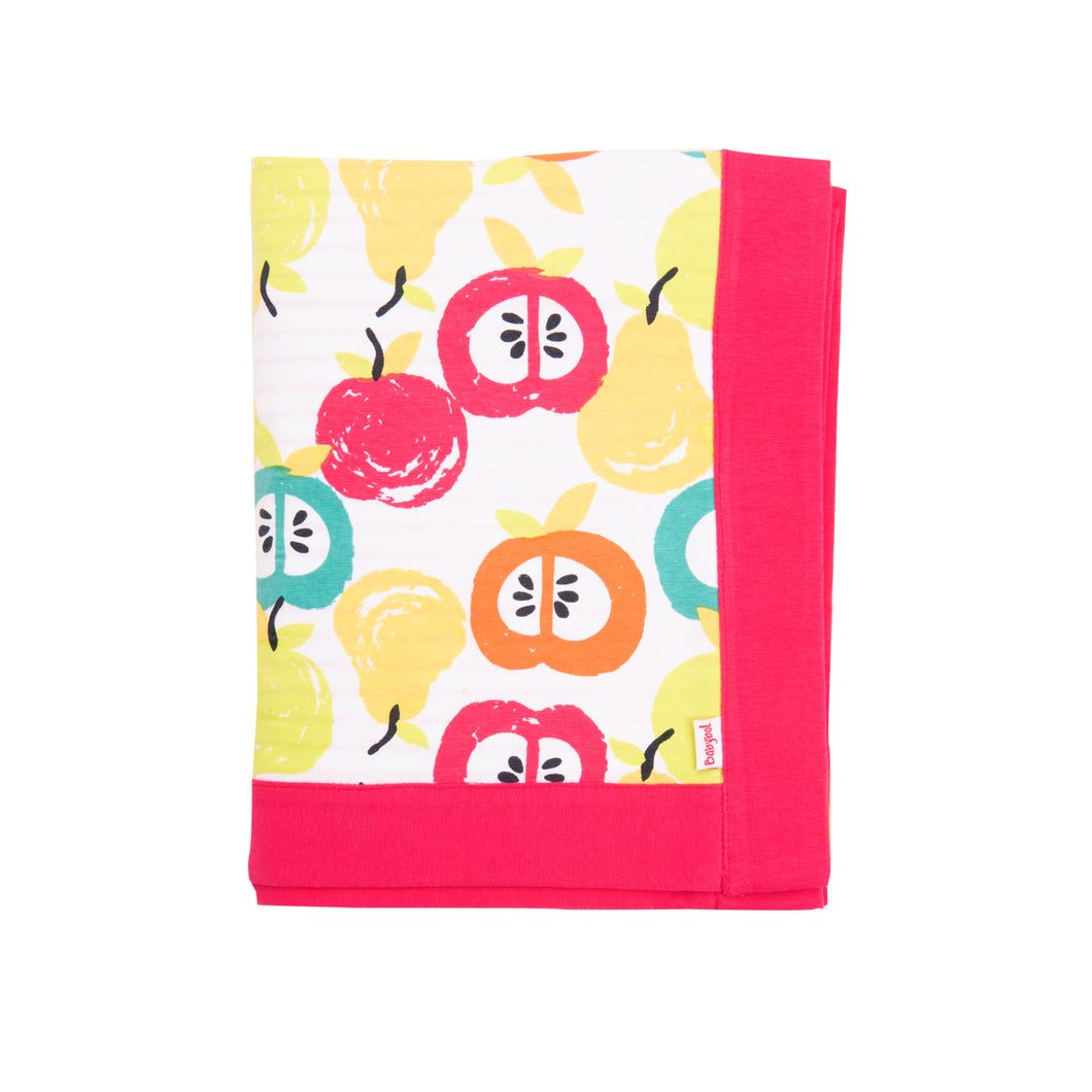 Babybol Baby Girls Fruity Baby Blanket