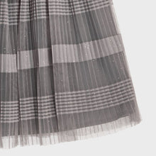 Load image into Gallery viewer, Mayoral Tulle Skirt For Girls - Silver Grey