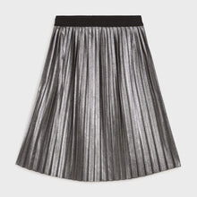 Load image into Gallery viewer, Mayoral Pleated Suede Skirt For Girls - Black