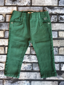 Birba Boys Forest Green Chino Trousers