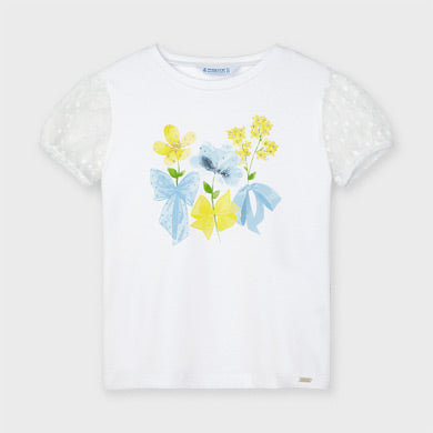 Mayoral Plumeti t-shirt for girl