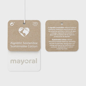 Mayoral ECOFRIENDS appliqué t-shirt for girl