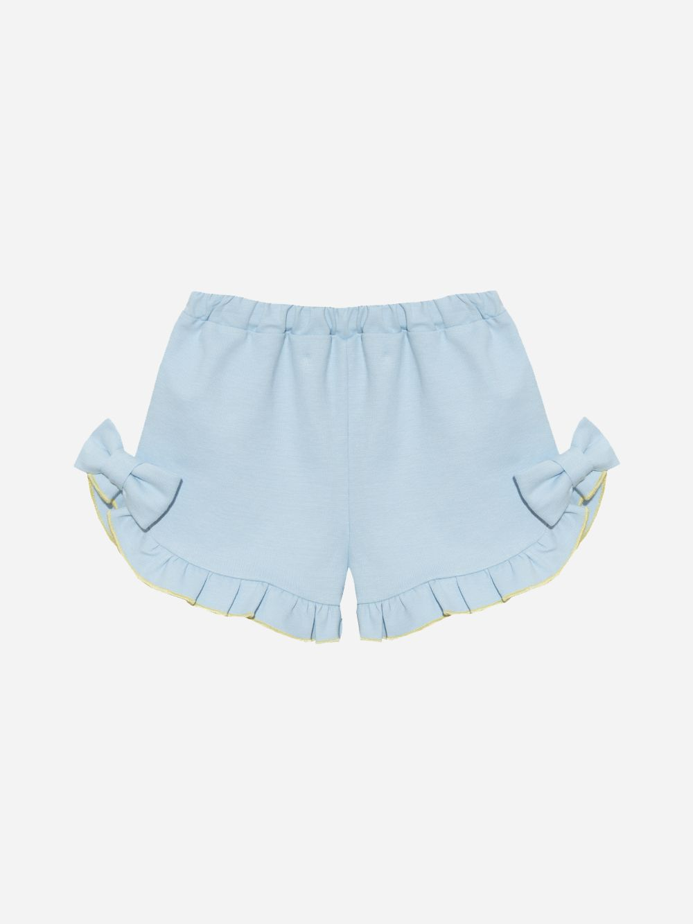 Patachou Interlock Blue Shorts