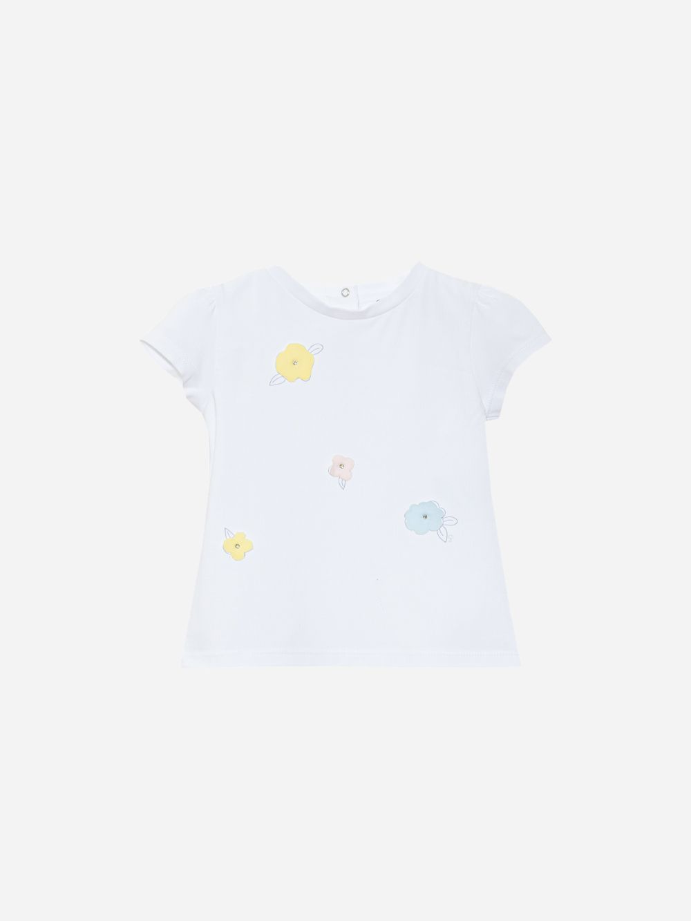 Patachou Jersey White T-Shirt