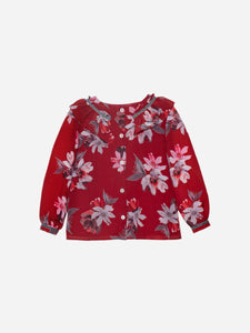 Patachou Girls Exclusive Red Flower Print Blouse