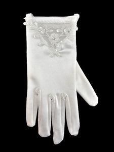 Little People Girls Communion Gloves LP752