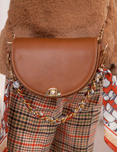 Load image into Gallery viewer, Abel & Lula Camel Leatherette Bag