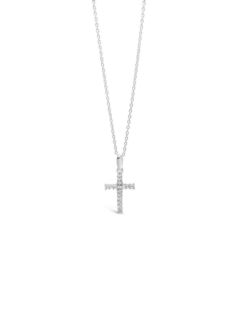 Absolute Jewellery Diamante Cross Necklace HCC109