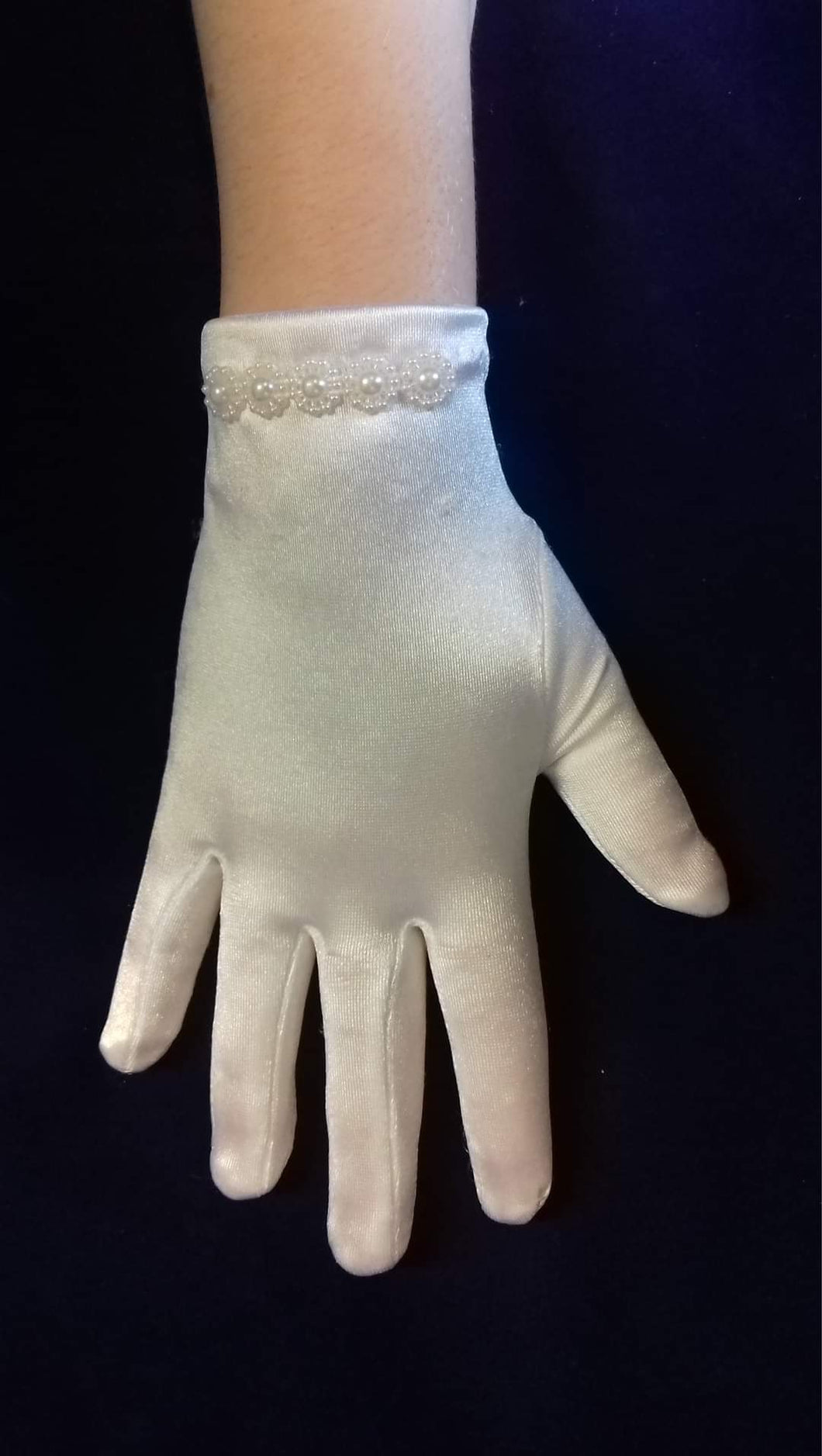 Celebrations Girls Communion Gloves CG783