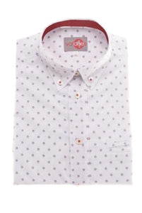 One Varone Boys White Shirt With Spot Motif