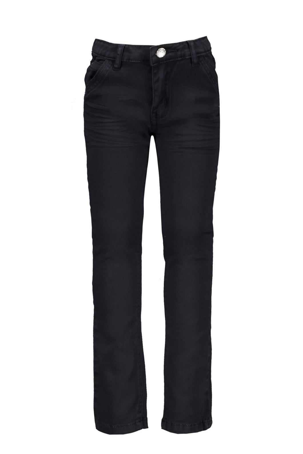 Le Chic Garcon Boys Classic Twill Chino Style Trousers - Navy