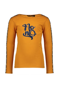 NONO Girls Gold Long Sleeve T Shirt