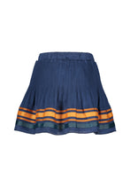 Load image into Gallery viewer, NONO Girls Blue Crepe Skirt