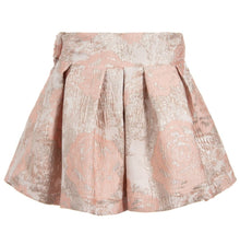 Load image into Gallery viewer, Patachou Girls Pink Jacquard Skirt