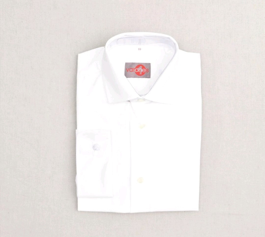 One Varone Boys Shirt - White